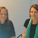 Saskia Hofstra en Inge Pool
